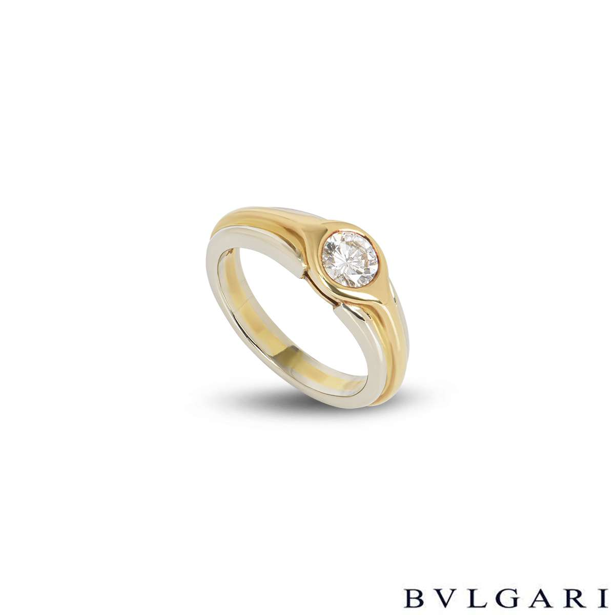Bvlgari Diamond Ring 0.50ct H/VS2
